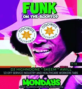 Funk on the Rooftop @ O'Dowd's | Kansas City | Missouri | United States